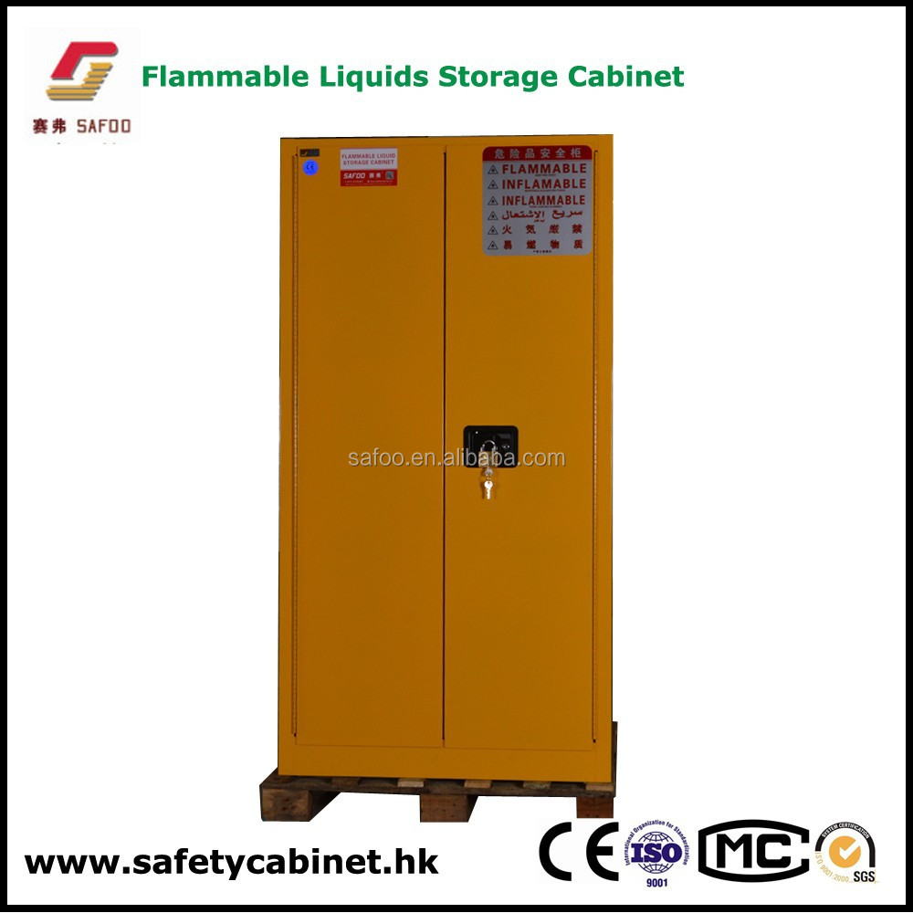 Good Price Yellow Finish Flammable Liquids Storage Safety
