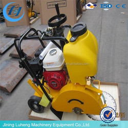 High performance asphalt road cutter machine , concrete road cutter with diesel engine for sale