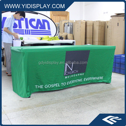 Custom Fitted Trade Show Table Cover