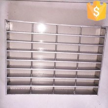 Factory direct sale hot dip galvanized steel grating weight (factory, since 1989)