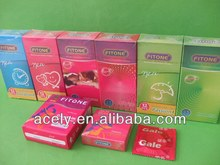 Natural Latex Various Types male sex Condoms