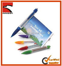 Advertising logo customized banner pen pull paper pen