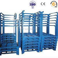 Portable Stacking Racks steel pallet stacking frames