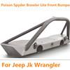 Jeep JK Wrangler Brawler Lite Front Bumper with Brawler Bar