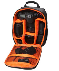 Fashion Double-Shoulder Waterproof Digital DSLR Camera Backpack