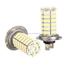 HIGH POWER 1X H7 120 LED 3528 SMD Xenon White Car Fog Headlight Head Led Light Lamp Bulb