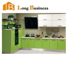 LB-JL1131 Contemporary Melamine kitchen Cabinet design for mini kitchen