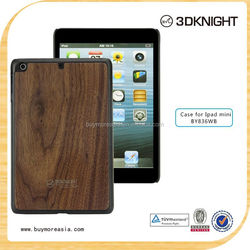 New fashion single wood case for ipad air 2 environmental wooden flip case