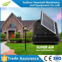 Newmeil SuperAir-R easy installation 12w 18v/24v roof solar attic fan