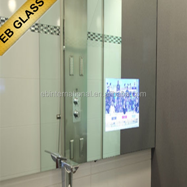Two Way Polarized Mirror TV Bathroom Mirror For Hotel EB