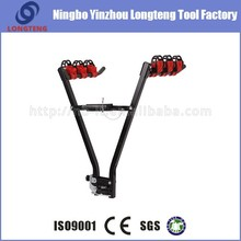three bike carrier steel ball mounted bicycle rack