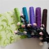 disposable flocking organza fabric roll