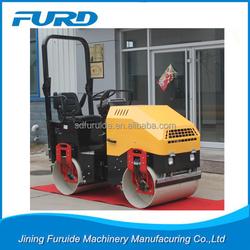 2 ton Vibratory Asphalt Roller Mini Tandem Road Roller For Sale (FYL-900)