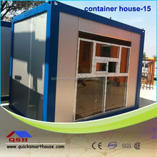 low cost prefab steel 20ft modular container houses with CE certificated