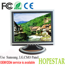 """12V DC 14"""" inch Computer LCD Monitor With RCA VGA TV Input"""
