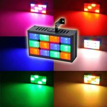 MINI 24 LEDS DJ STROBE effect LIGHT FLASH LIGHT BULB CLUB STAGE PARTY DISCO HOT