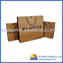 Fashionable Kraft Paper Bag for Clothing Company