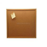 China Supplier wall mounted 1mm natural cork sheet notice cork board