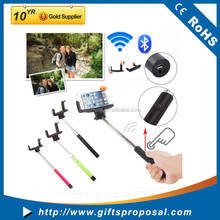 Extendable Selfie Handheld Stick Monopod with Adjustable Phone Holder and Bluetooth Wireless Remote Shutter
