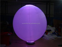 CILE 2015 latest LED light inflatable balloon for party decoration