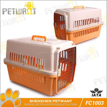 Colorful hot sale dog cage with metal pan