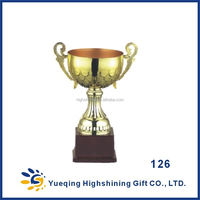 Three sizes students matches sports awards small gold trophies 126ABC golden trophy cup