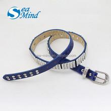 Western rhinestone leather belts, rhinestone fancy belt