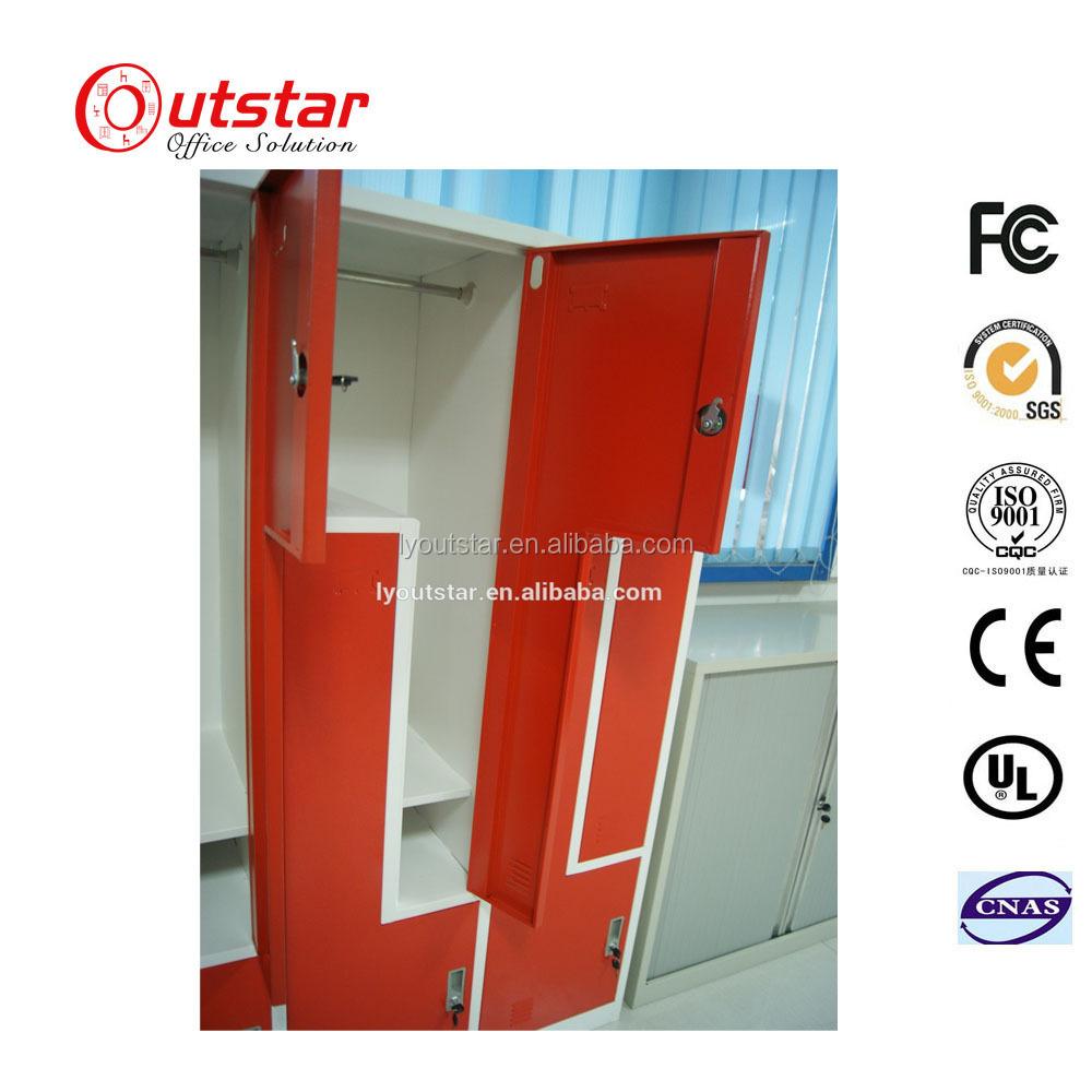 Funcional e Elegante dois Z Metal forma cilindro fechaduras para armários/yale fechaduras da porta comercial