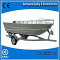 Fácil de manter alumínio pesca motor de popa do barco/2014 novo design