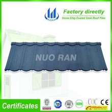 High Quality 0.4mm Ce Certificate Roofing Material And Colorful Stone Coated Steel Roof Tile/metal and steel tile roofing