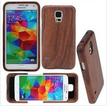 Mobile Phone Wood Case For Samsung Galaxy S5 Mini Hard Back Cover Case