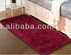 100% polyester microfiber shaggy rugs for home