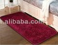 100% en microfibres de polyester shaggy tapis pour la maison