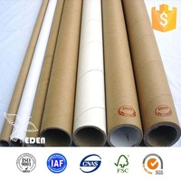 Biodegradable cardboard rolling paper tube core