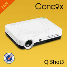 Q Shot3 Mirroring connection with Tablet/laptop/phone smart mini projector