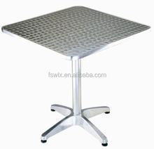 Hot sale with best price aluminium /stainless steel table