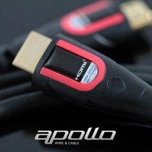 PERFECT RED High speed 24k gold plated HDMI Cable with Ethernet for dvi to hdmi