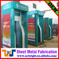 Newest design style durable sheet metal fabrication atm machine dimension