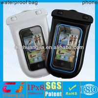 Cheap high quality waterproof case for iphone 4 with string/ waterproof bag for smartphones