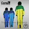 100% Nylon taslon ripstop with coating shell fabric men jump suit 4000mm waterproof winter jacket made in China