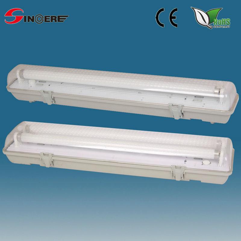Outdoor Wall Lamp Plastic Fluorescent Waterproof Light
