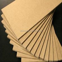 low price 18mm plain melamine mdf sheet price for sale