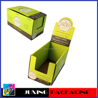 colorful candy counter cardboard display boxes
