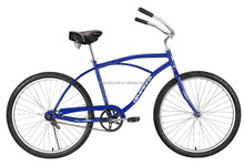 Traditional chopper bicycle beach cruiser bike,ladies beach cruiser bike in alibaba china