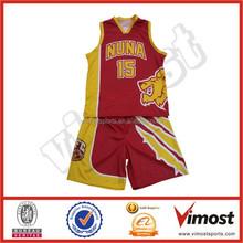 free designed custom sublimation basketball top jerseys 15-4-18-13