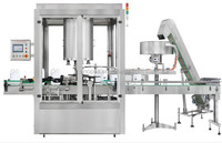 Automatic fully automatically rotary cap tightening machine, aluminum capping machine