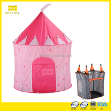Specialty OEM Indoor Kid Play Tent Girl Play Tent Princess Castle Play Tent