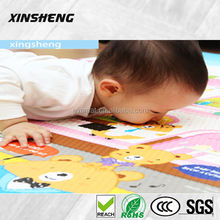 high quality cheap baby floor play mat,non-toxic color printed baby play mat,anti-slip floor mat