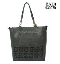 b2b marketplace wholesale high quality women handbag custom laser pattern ladies bag organizer
