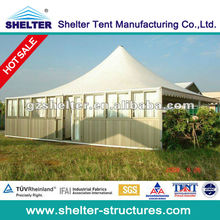 4X4M heated tents pagoda tent for party tent